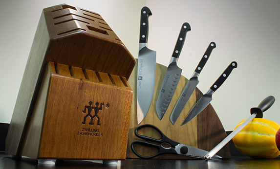 Zwilling J.A. Henckels Pro 7 Piece Knife Block Set