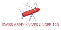 Swiss Army Knives Under 20 Dollars