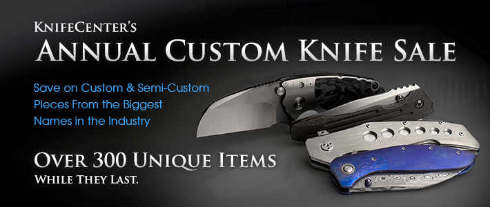 Annual Custom Knife Sale