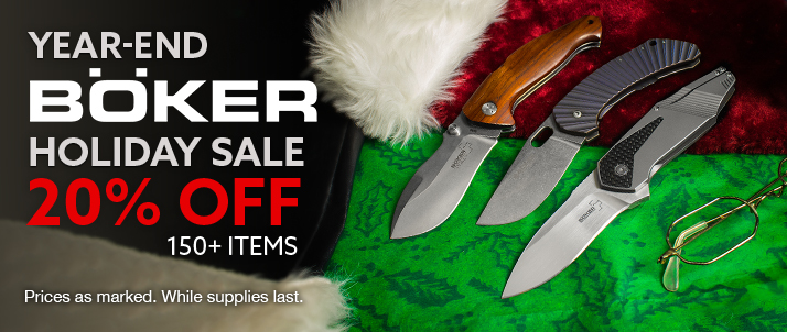 Year End Boker Holiday Sale