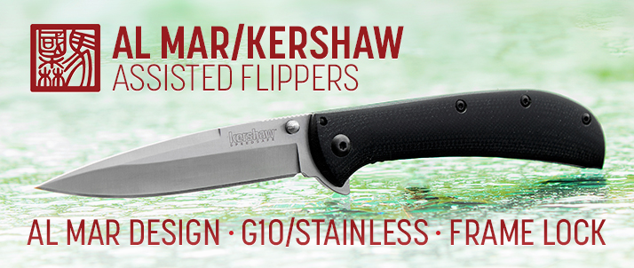 Kershaw Al Mar AM-3 and AM-4 Assisted Flippers