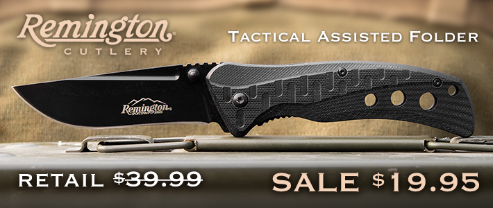 Remington Tactical Assisted Folder