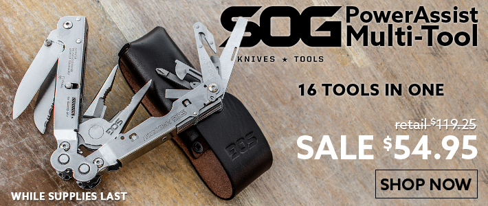SOG S66L PowerAssist Multi-Tool