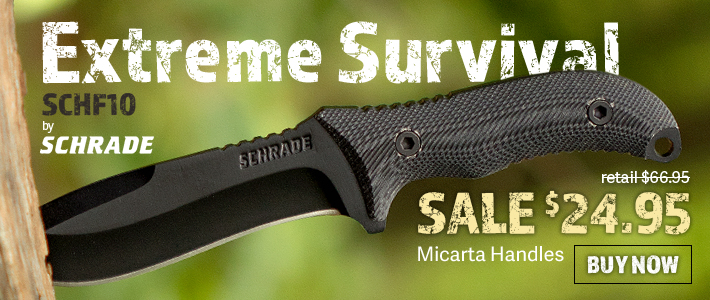 Schrade SCHF10 Extreme Survival Fixed Blade
