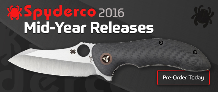 Spyderco 2016 Mid-Year Releases
