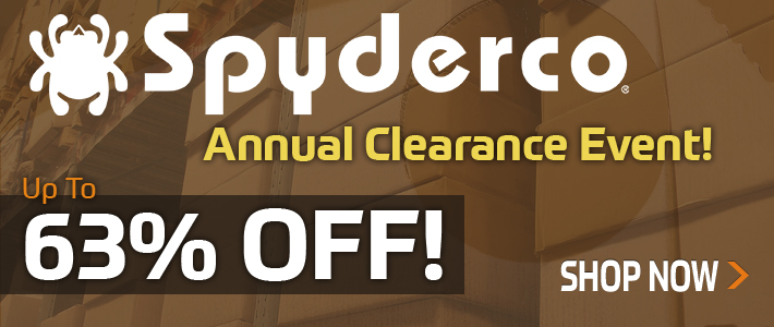 Spyderco Annual Clearance Event