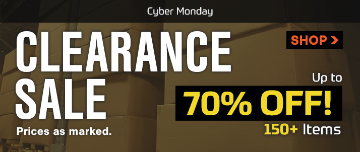 Cyber Monday Clearance!