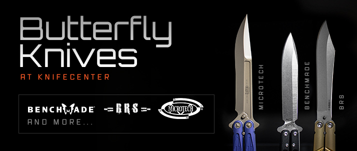 Butterfly Knives at KnifeCenter