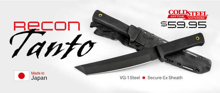 Cold Steel Recon Tanto Sale