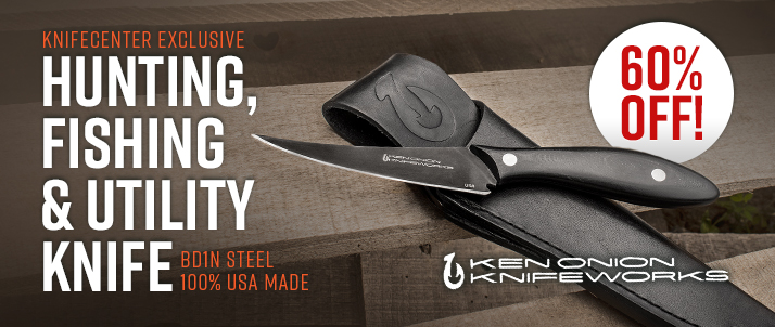 Ken Onion KnifeCenter Exclusive Hunting, Fishing & Utility Knife
