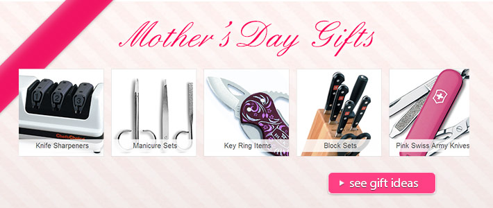 Mother's Day Gifts at KnifeCenter!