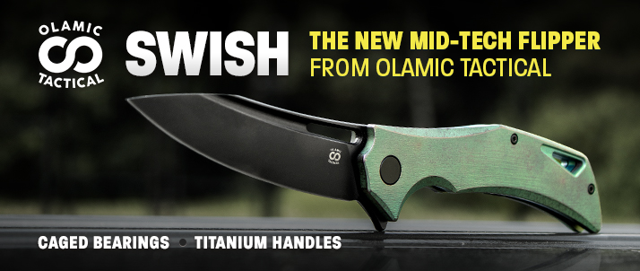 Olamic Tactical Swish Flippers