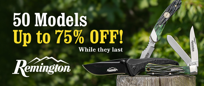 Remington Cutlery Sale