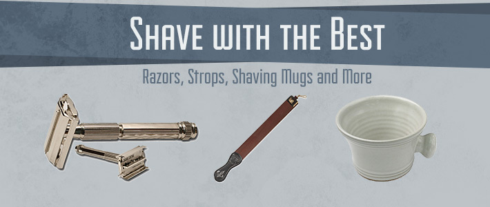 Shaving Supplies at KnifeCenter
