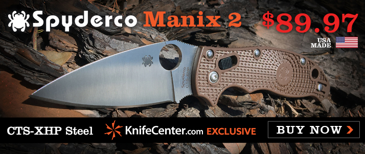 Spyderco Manix 2 Now Available