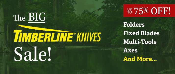 Big Timberline Knives Sale