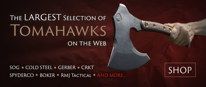 The Largest Selection of Tomahawks on the Web