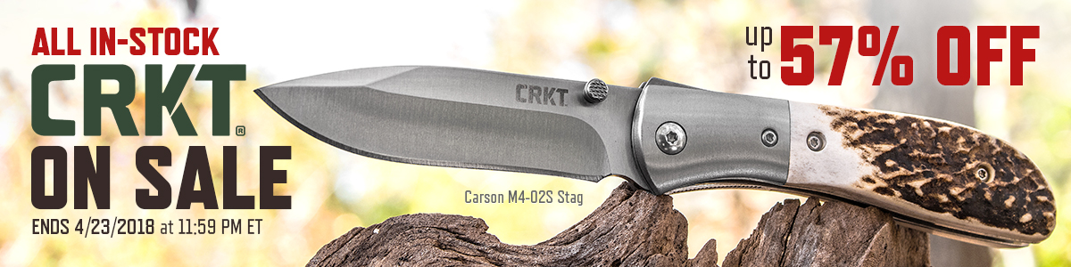 Huge CRKT Weekend Sale
