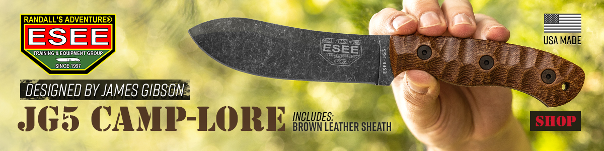 ESEE JG5 Camp-Lore Fixed Blade