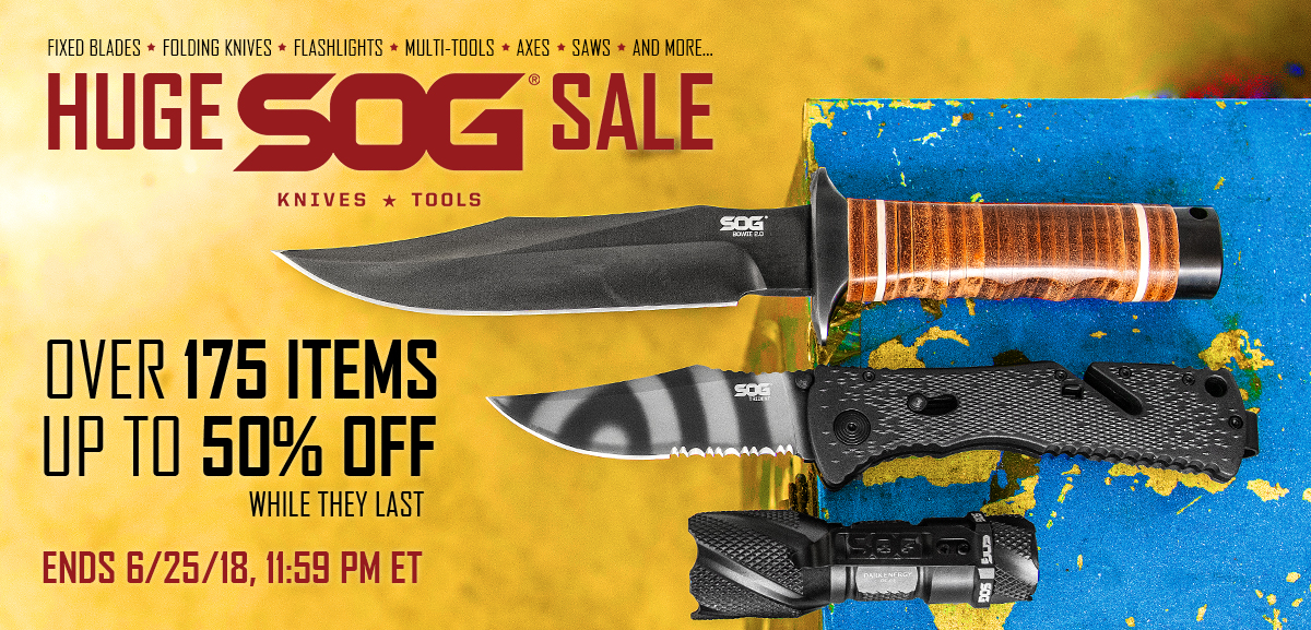 Huge SOG Sale