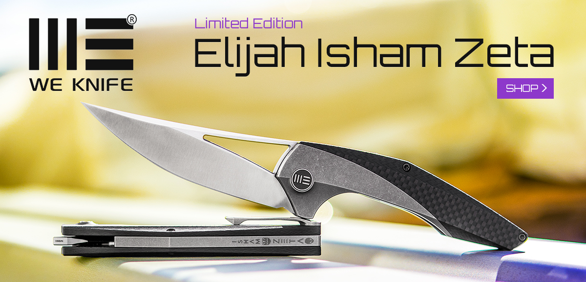 WE Knives Elija Isham Zeta