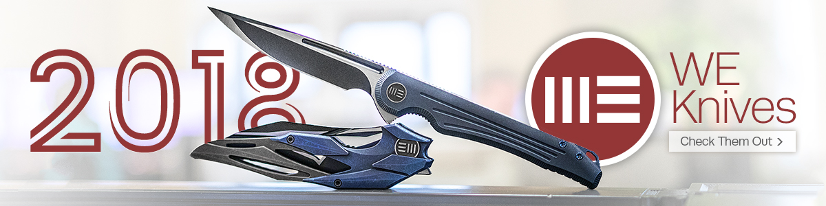 New 2018 WE Knives