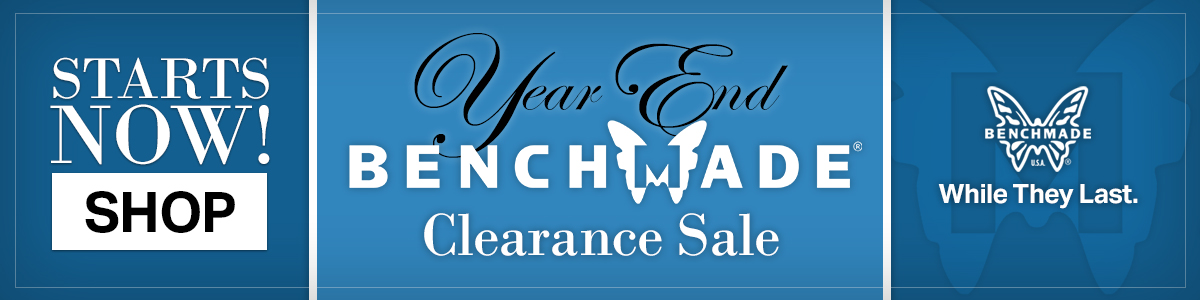 Benchmade Year-End Clearance Sale