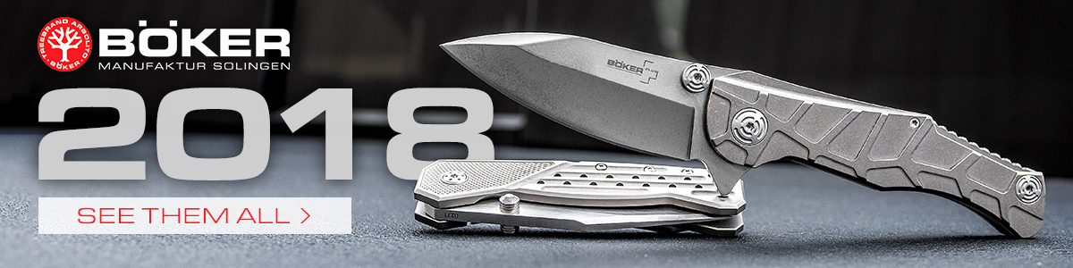 New 2018 Boker Knives