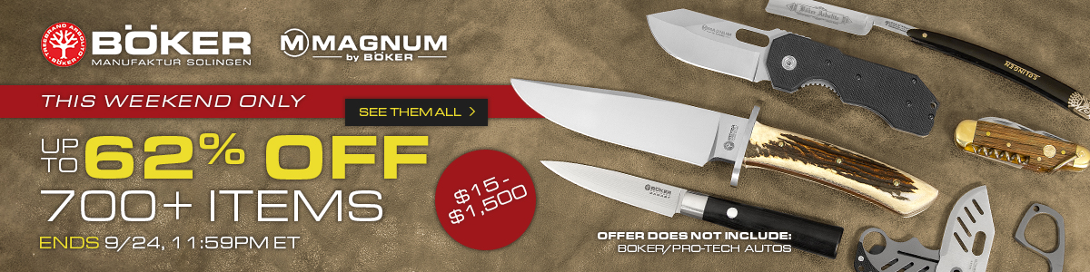 Boker Weekend Sale