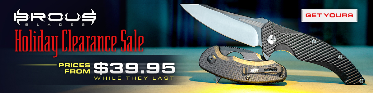 Brous Blades Holiday Clearance Sale