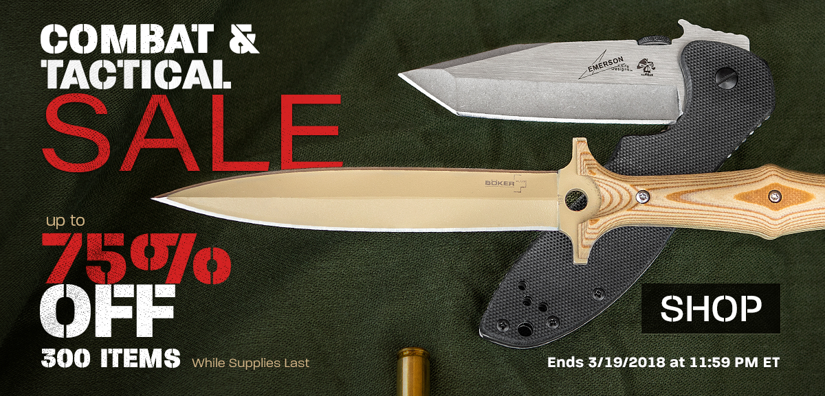 Combat and Tactical Sale