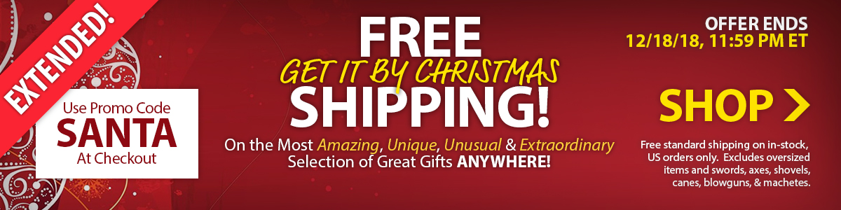 Free Get It By Christmas Shipping