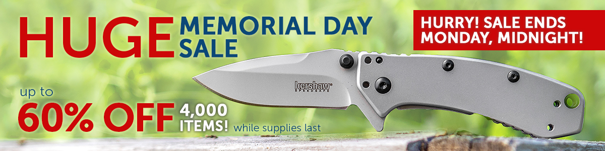 2018 Memorial Day Sale Last Chance