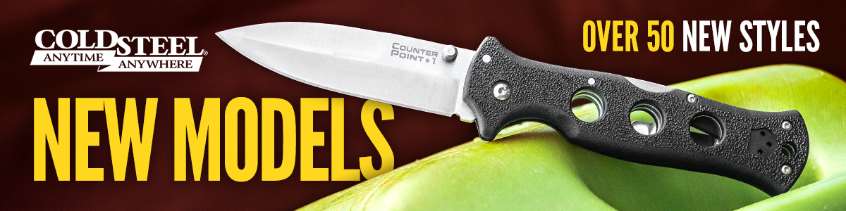 New Cold Steel Knives