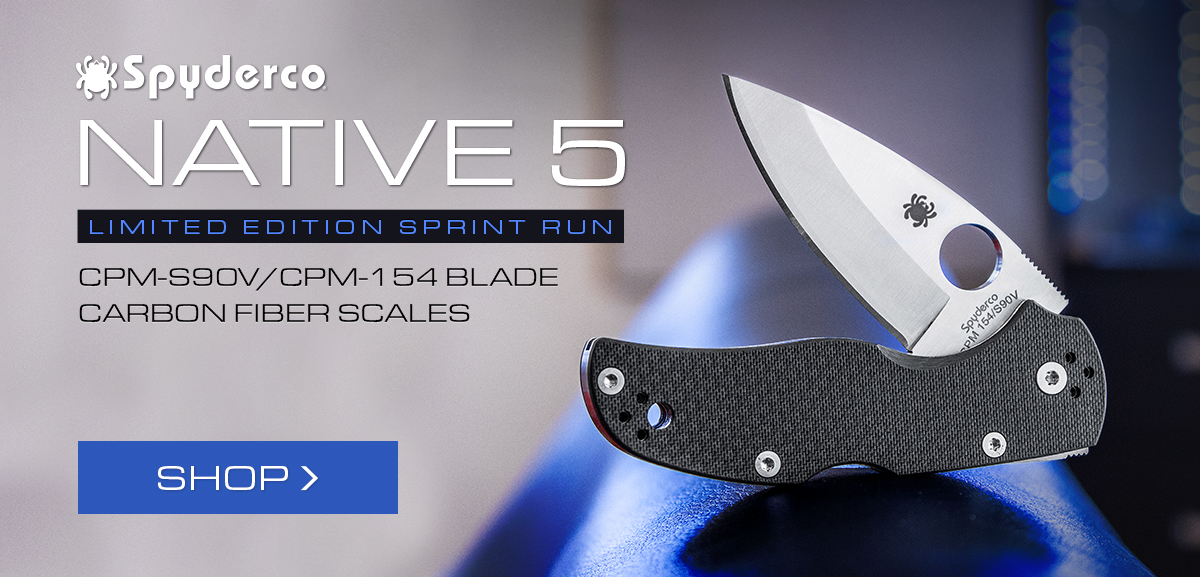 Spyderco Native 5 Sprint Run