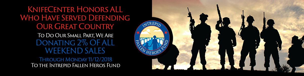 KnifeCenter is Donating to The Intrepid Fallen Heroes Fund