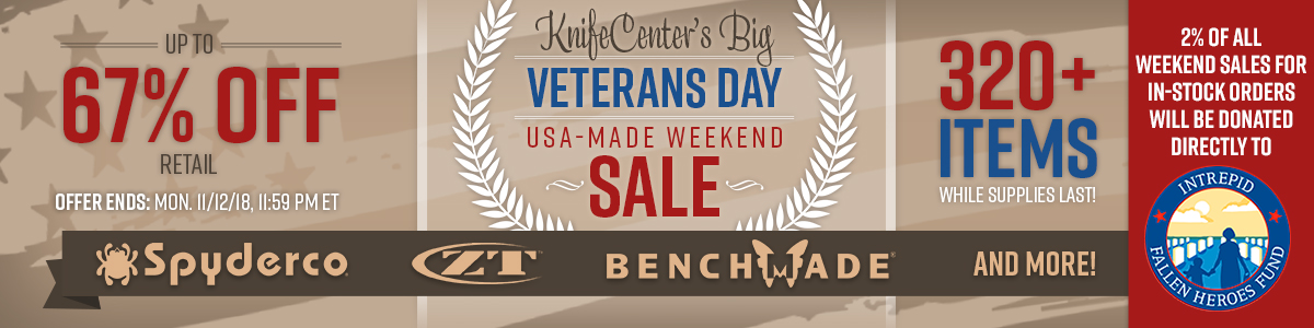 Veterans Day USA-Made Weekend Sale