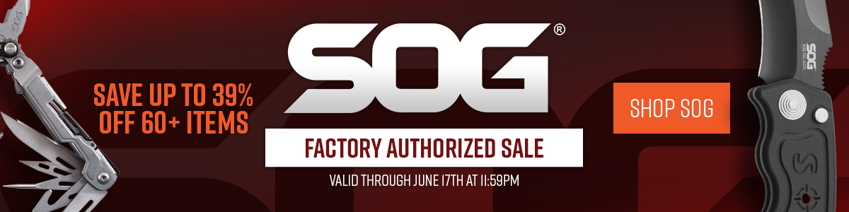 SOG Factory Authorized Sale