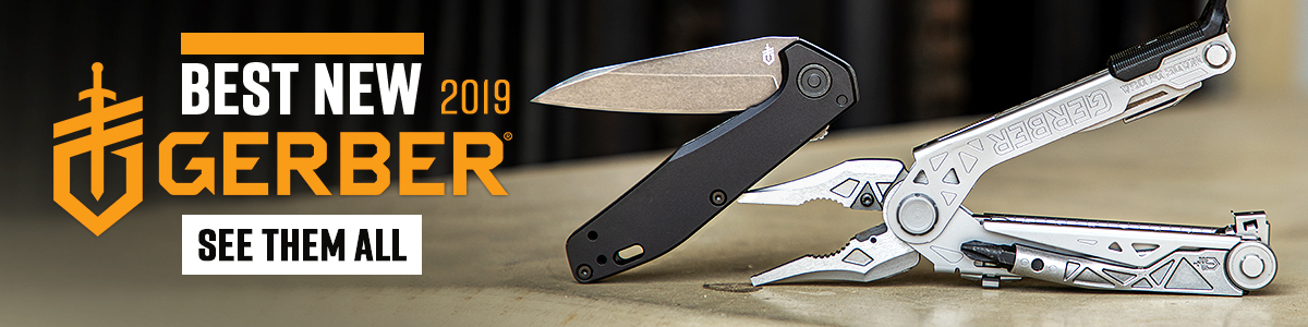 Best New Gerber Gear and Knives of 2019