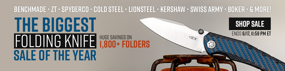 The Biggest Folding Knife Sale of the Year