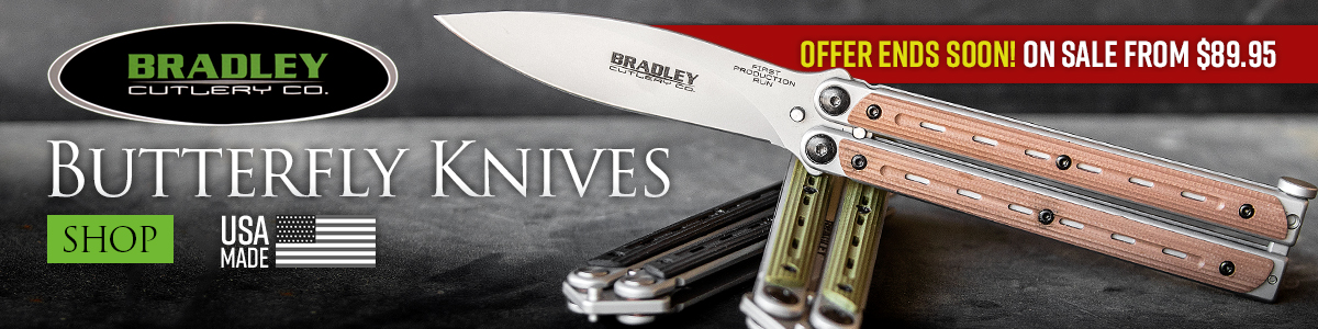 Bradley Knives Balisongs