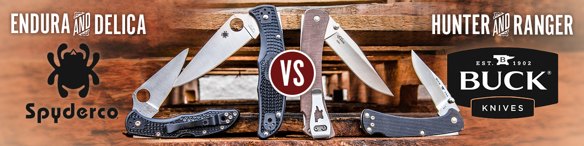 Spyderco vs Buck