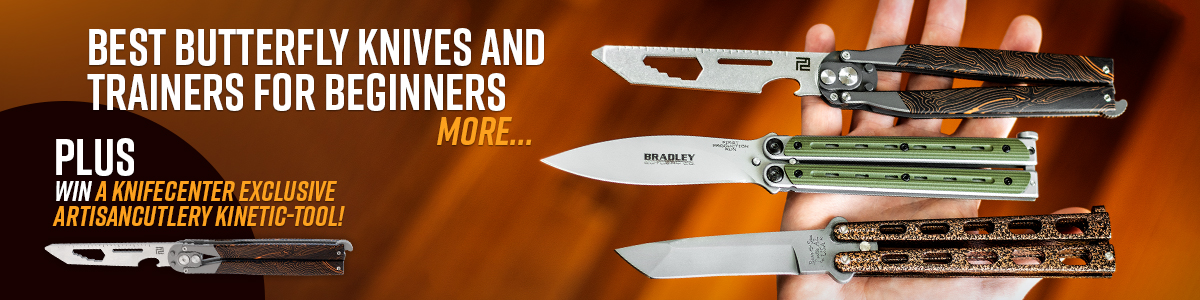 Best Butterfly Knives and Trainers for Beginners