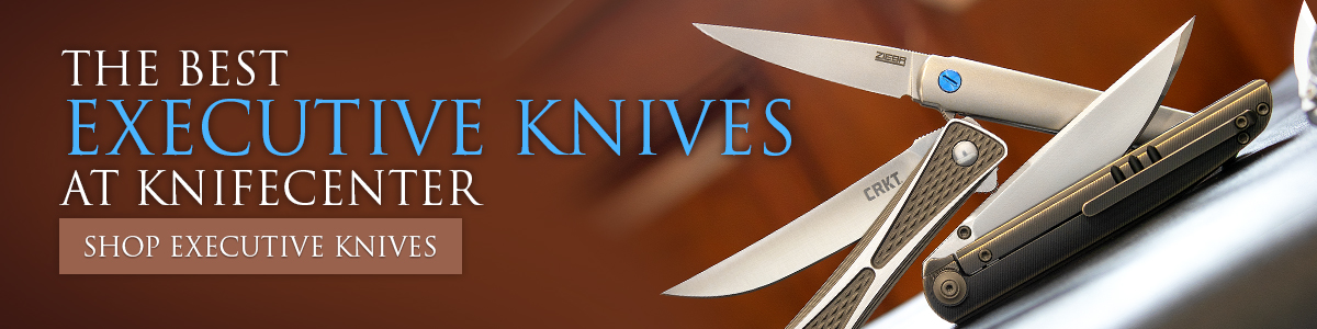 The Best Executive Knives at KnifeCenter