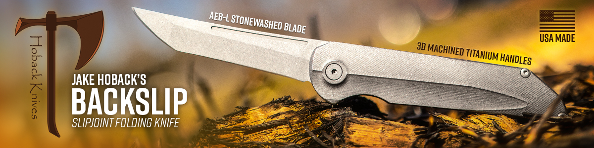 Jake Hoback Backslip Slipjoint Folder