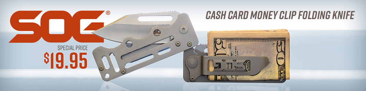 SOG Cash Card Money Clip