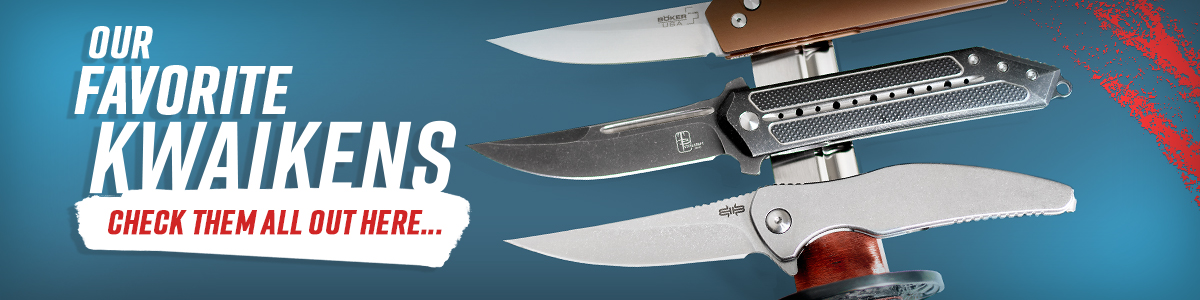 Best Kwaiken Folding Knives