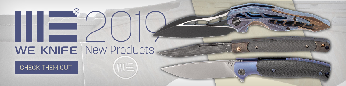 New 2019 We Knife Company Products