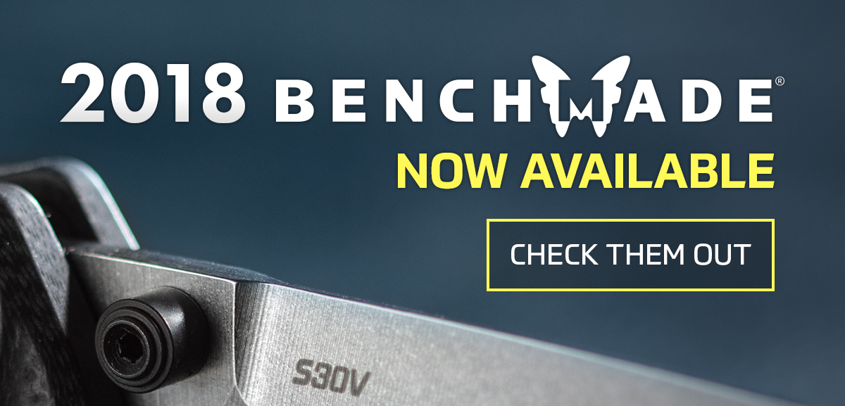 Benchmade Pre-Orders 2018