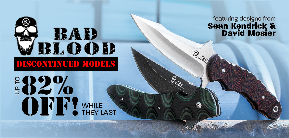 Bad Blood Discontinued Models